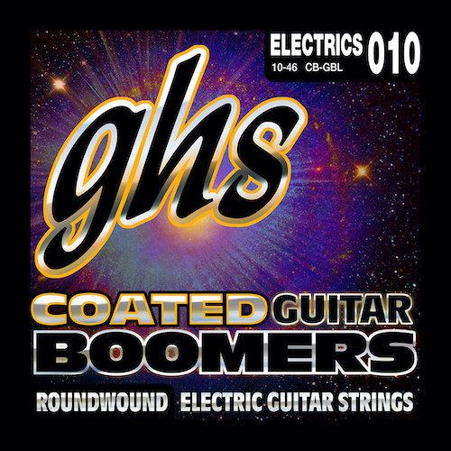 GHS Coated Boomers Electric Guitar Strings