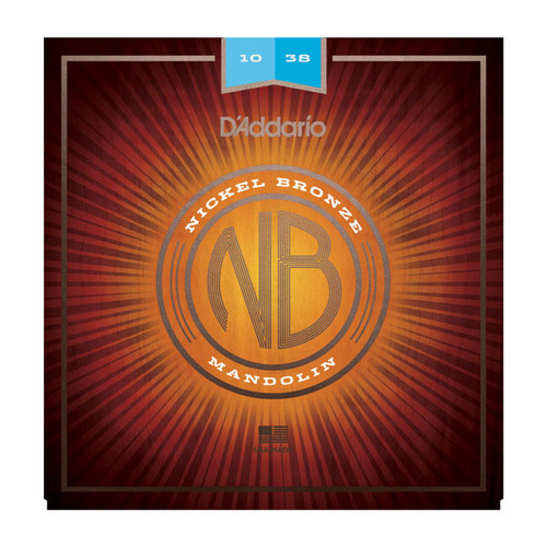 D'Addario Nickel Bronze Mandolin Strings
