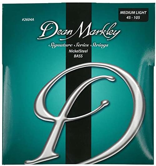 Dean Markley NickelSteel Bass Guitar Stings; 45-105