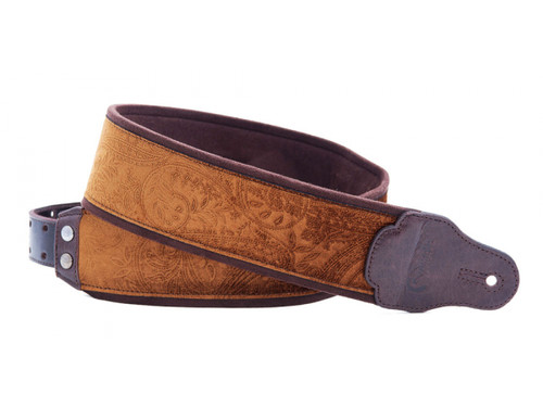 RightOn! Jazz Cashmere Canyon Guitar Strap