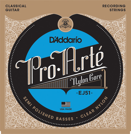 D'Addario Pro Arte Nylon Core Classical Guitar Strings