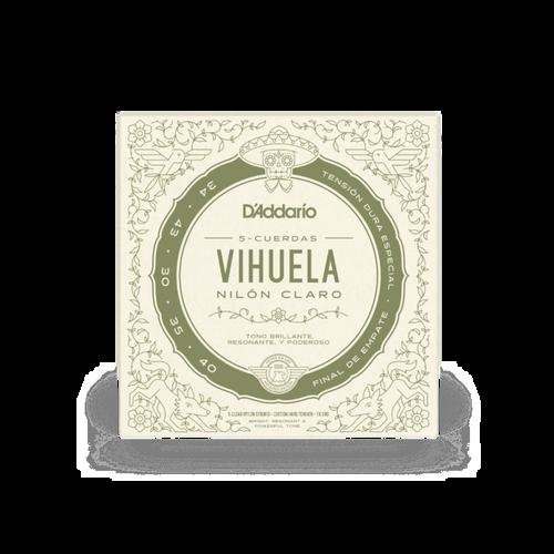 D'Addario Vihuela Strings, Custom Hard Tension 34-40