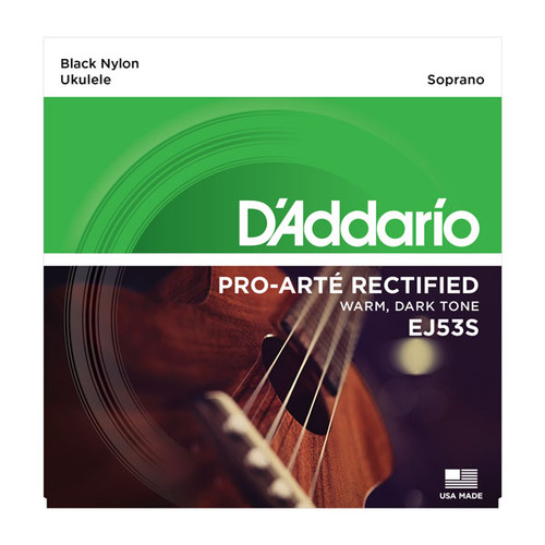 D'Addario Pro Arte Rectified Black Nylon Ukulele Strings