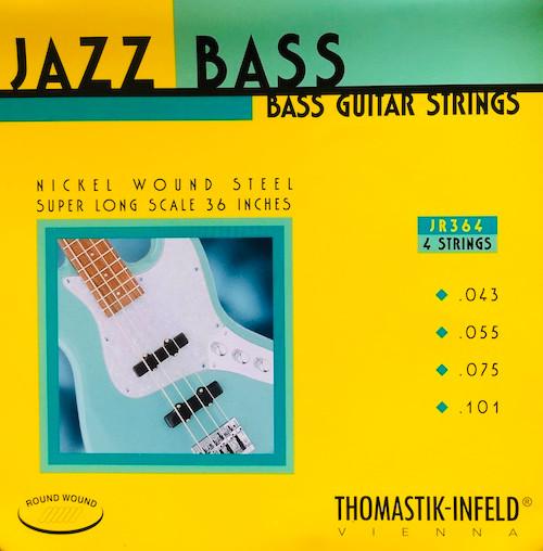 Thomastik Infeld Roundwound Nickel Jazz Super Long Bass Strings 43-101 (JR364)