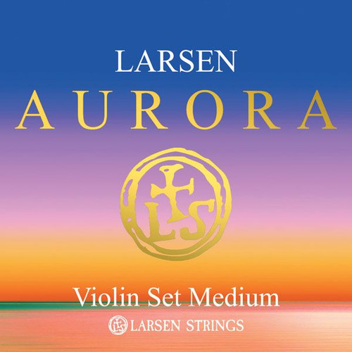 Aurora Violin Strings; full set medium 4/4 scale