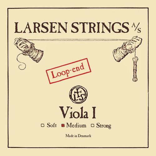 Larsen Original Viola A String; loop end