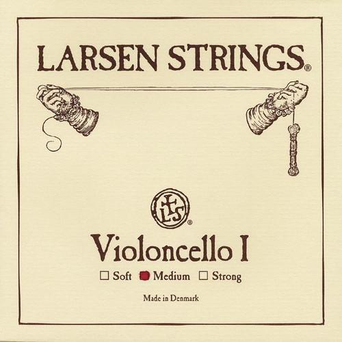 Larsen Original Cello String; medium A (single)