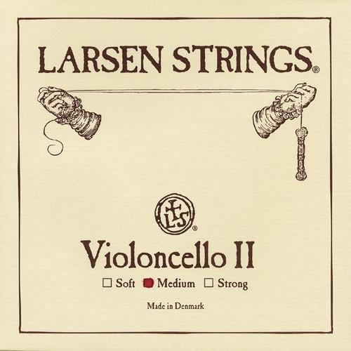 Larsen Original Cello String; medium D (single)