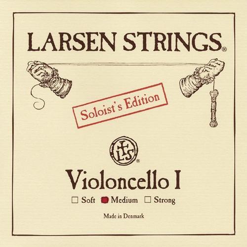 Larsen Soloist Cello String; medium A (single)