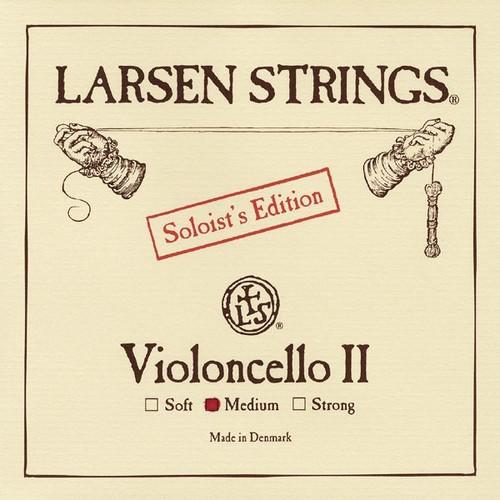 Larsen Soloist Cello String; medium D (single)