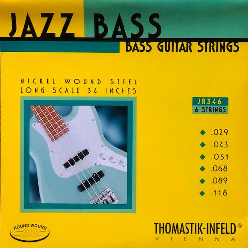 Thomastik Infeld Round Wound Jazz Bass Strings ; 29-118 (JR346)