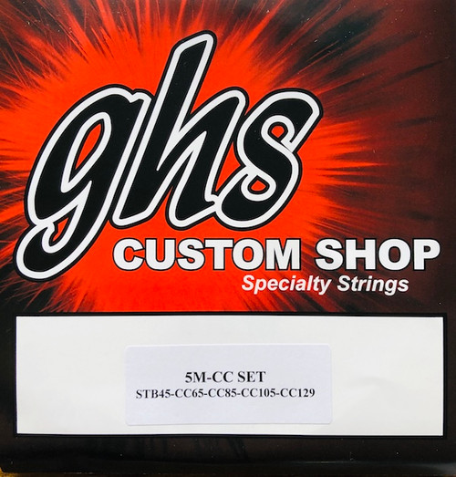 GHS Contact Core Super Steels Bass Guitar Strings 45-129