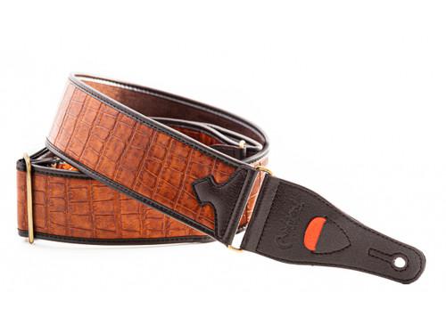 RightOn! Talisman Alligator Woody Guitar Strap