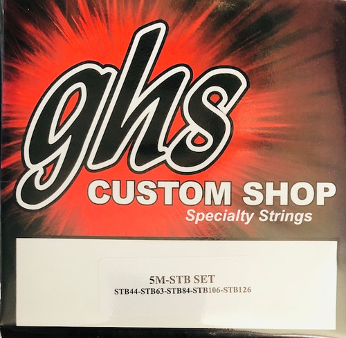 GHS Super Steels Bass Guitar Strings; gauges 44-126
