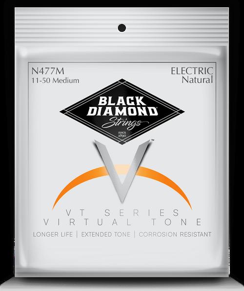 Black Diamond Nickel Wound Electric Strings; 11-50
