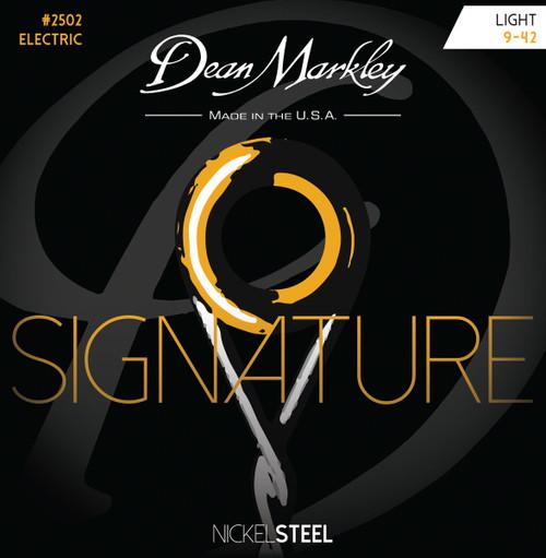 Dean Markley Signature Series Nickel Steel Electric Guitar Stings