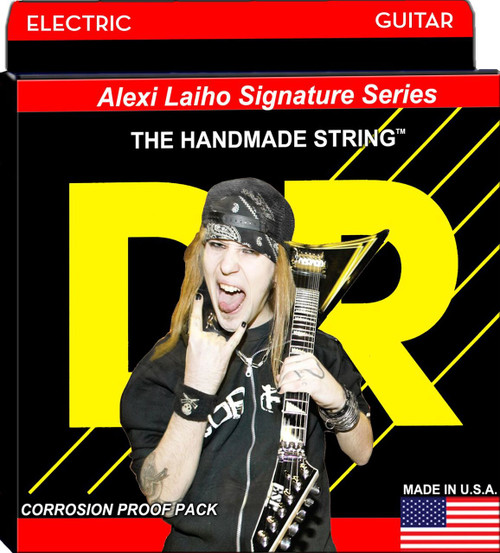 DR Alexi Laiho Signature Electric Guitar Strings