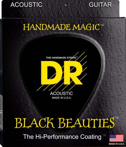 DR Black Beauties Acoustic Guitar Strings