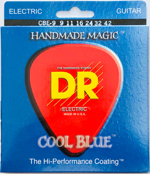 DR Cool Blues Electric Guitar Strings gauges 9-42