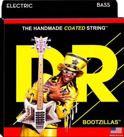 DR Bootzillas Coated Bass Guitar Strings