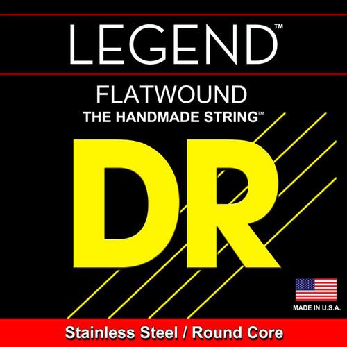 DR Legend Flatwound Bass Guitar Strings