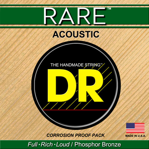 DR Rare Acoustic Guitar Strings