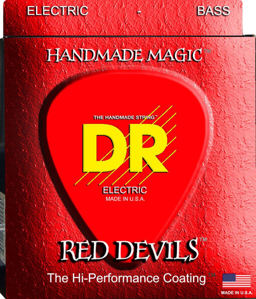 DR Red Devils Bass Guitar Strings