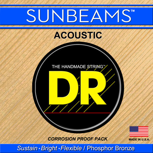 DR Sunbeams Phosphor Bronze Acoustic Guitar Strings