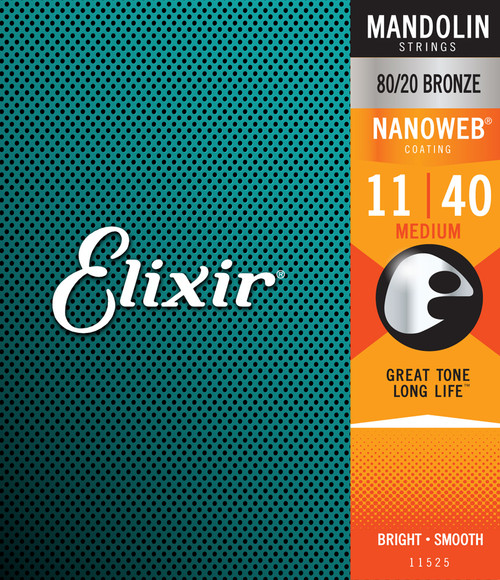 Elixir Nanoweb Mandolin Strings
