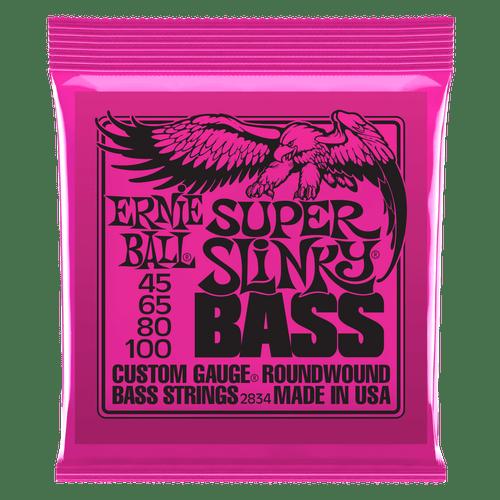 Ernie Ball Nickel Wound Electric Slinky Bass Guitar Strings