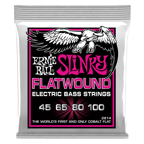 Ernie Ball Slinky FlatWound Electric Bass Strings (select gauges)