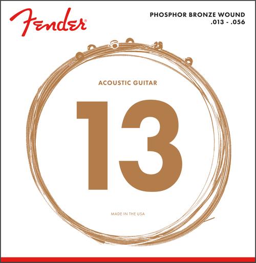 Fender Phosphor Bronze Wound Acoustic Guitar Strings (ball end)