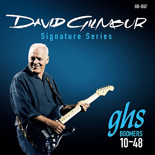 GHS David Gilmore Boomers Electric Guitar Strings
