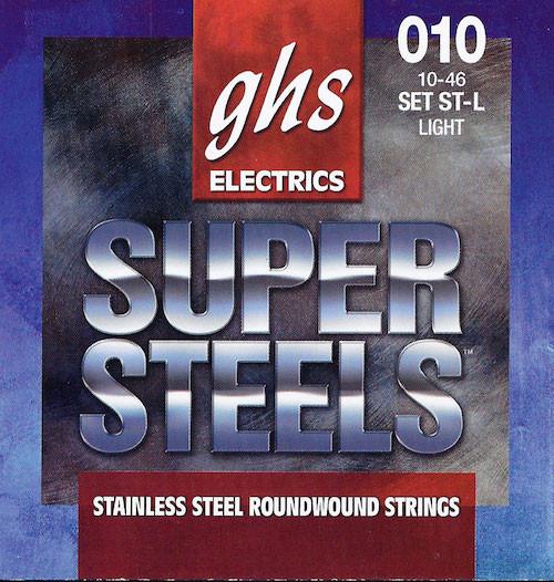 GHS Super Steels Electric Guitar Strings