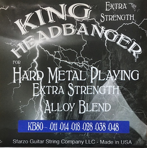 King Headbanger Electric Guitar Strings