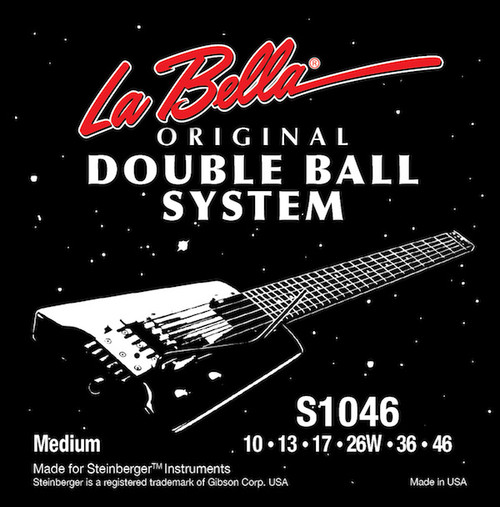 La Bella Double Ball-End Stainless Steel Guitar Strings
