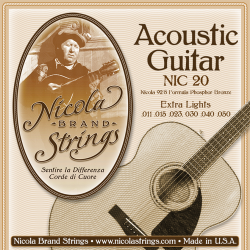 Nicola Phosphor Bronze Acoustic Guitar Strings