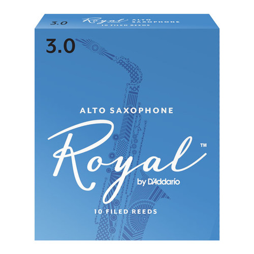 Royal by D'Addario Alto Saxophone Reeds (10-Pack)