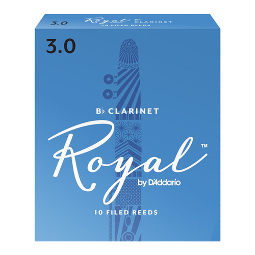 Royal by D'Addario Bb Clarinet Reeds 10-Pack