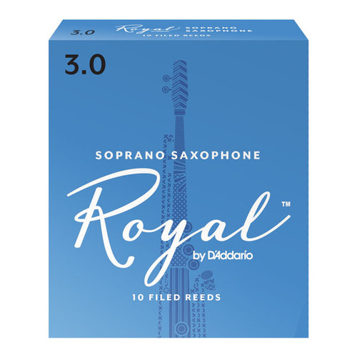 Royal by D'Addario Soprano Saxophone Reeds (10-Pack)