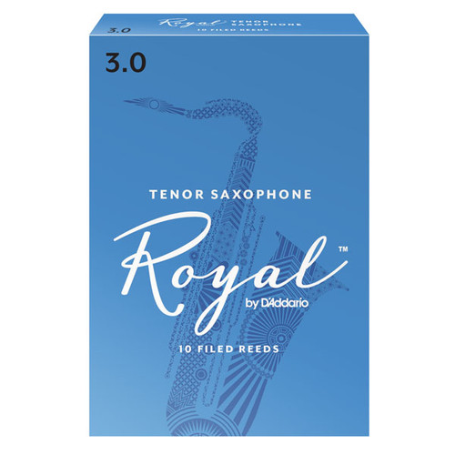 Royal by D'Addario Tenor Saxophone Reeds (10-Pack)