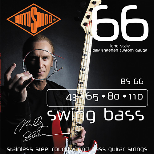 Rotosound BS66 Billy Sheehan Swing Bass Guitar Strings