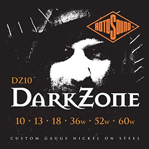 Rotosound DZ10 Dark Zone Electric Guitar Strings 10-60