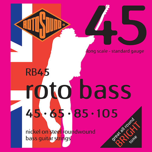 Rotosound Roto Bass Guitar Strings (select gauges)