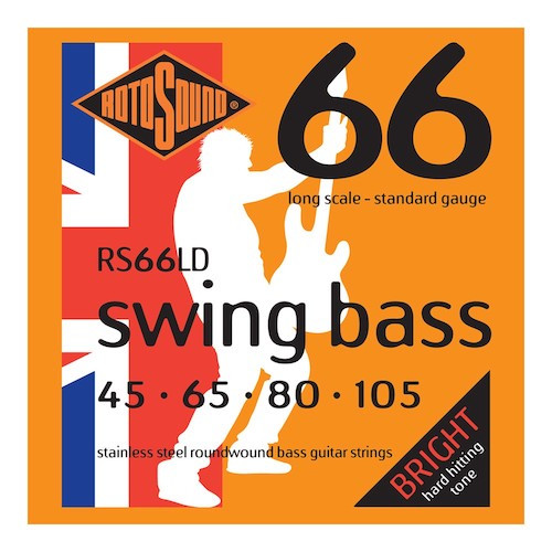Rotosound Swing 66 Bass Guitar Strings (select gauges)