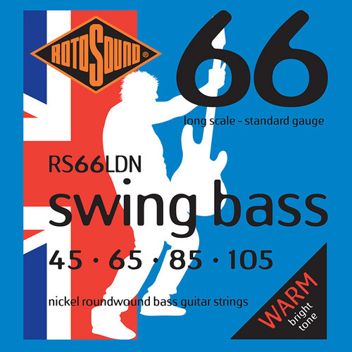 Rotosound RS66LDN Swing Bass Guitar Strings - Nickel 45-105