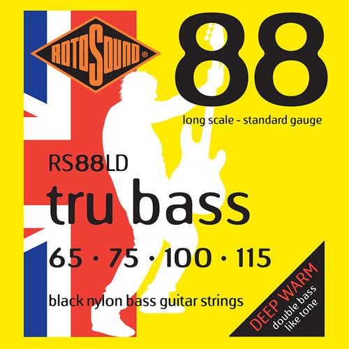Rotosound RS88LD Tru Bass Nylon Flatwound Bass Guitar Strings