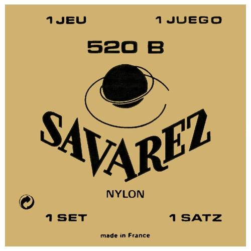 Savarez 520B Classical Guitar Strings - low tension