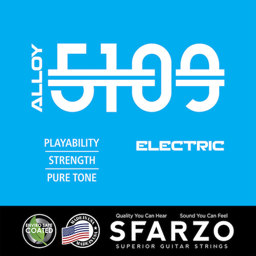 Sfarzo Alloy 5109 Electric Guitar Strings
