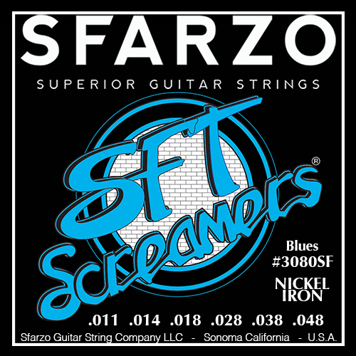 Sfarzo SFT Screamer Electric Guitar Strings
